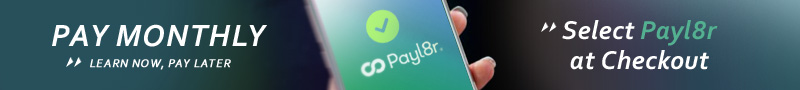 PayL8r - Pay monthly - Split the cost over 3,6 or 12 months